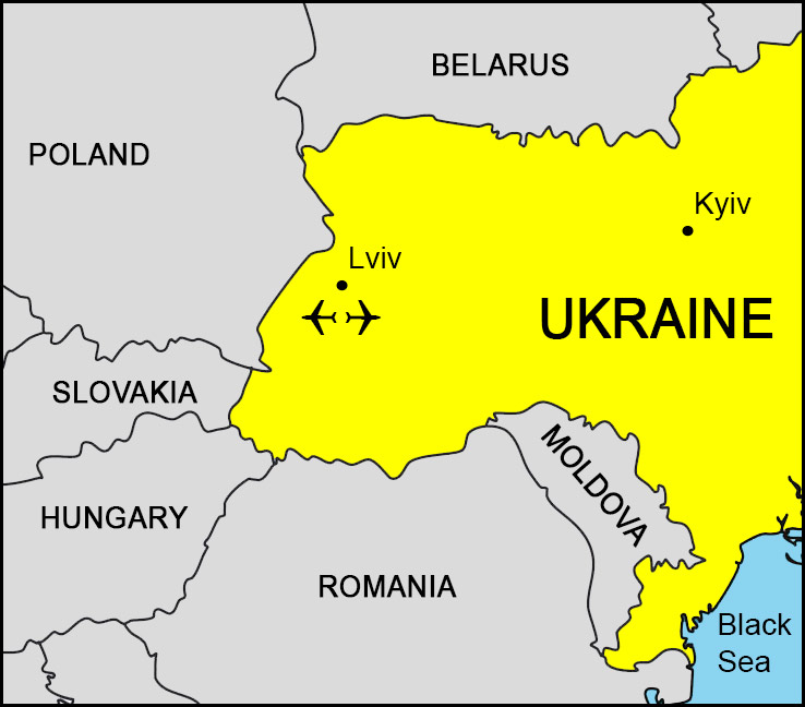 EASTER 2016 Big Map Ukraine 738 6381