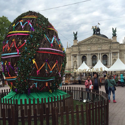 EASTER in LVIV and  AMSTERDAM  TULIP FESTIVAL